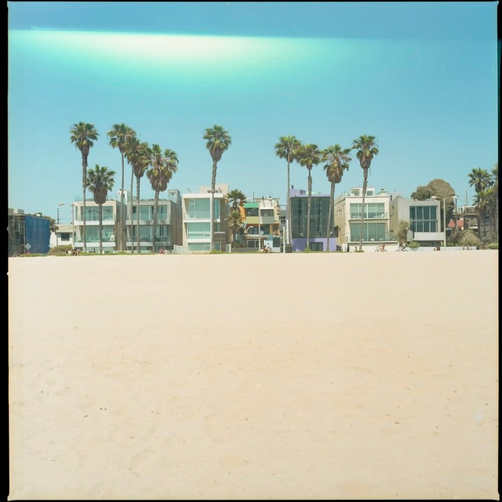 Beach homes at Venice Beach