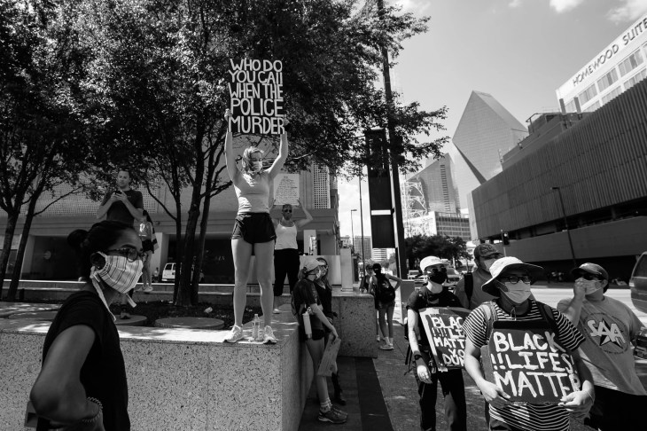 George Floyd Protest against police brutality