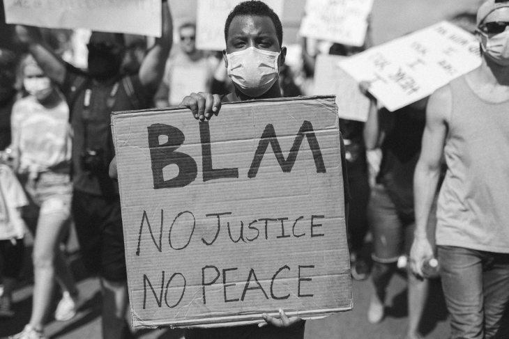 Black Lives Matter Protest in Dallas. Texas