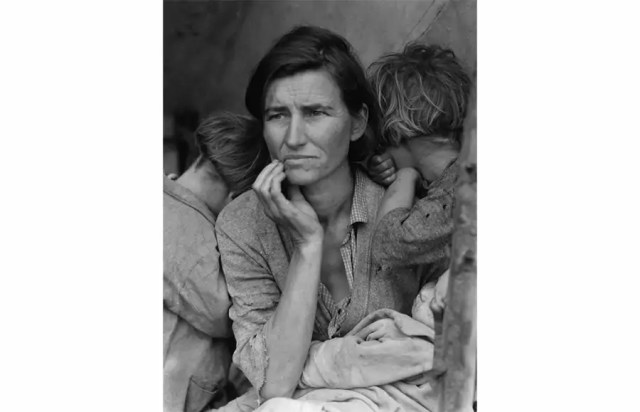 Migrant Mother, Dorothea Lange, 1936, Memorable Photo