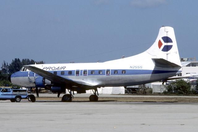 Pro Air Martin 404 N255S by The Aviation Photo Company.jpg