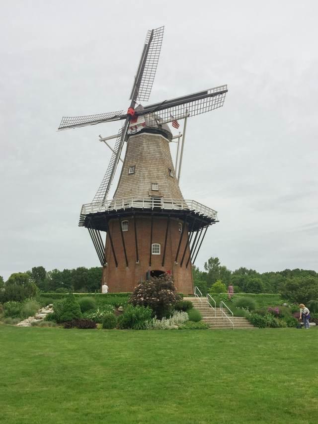 De Zwaan Windmill in the Windmill Island municipal park