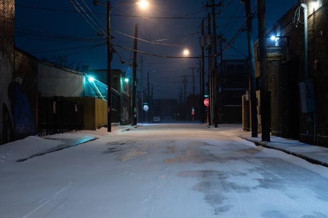 An alley in Deep Ellum, Dallas
