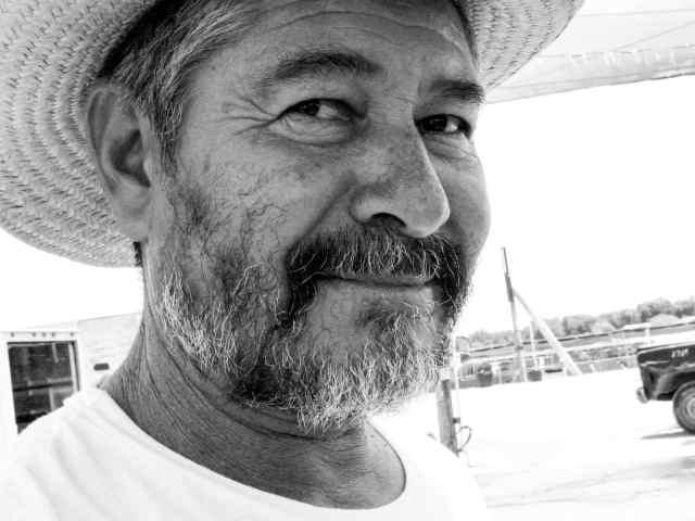 Rodrigo, A Mexican migrant farm worker.