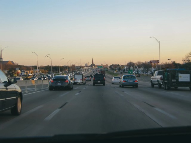 Driving up 75 North in the morning