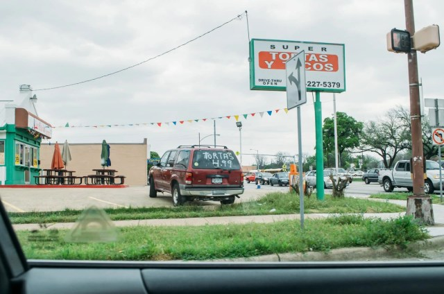 Mexican restaurant off of 66