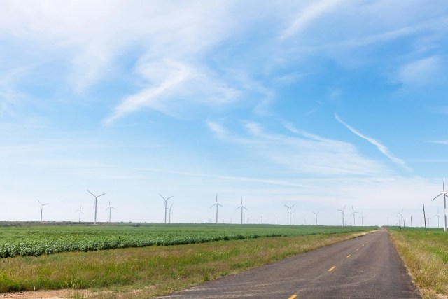 Renewable energy off of the road in West Texas