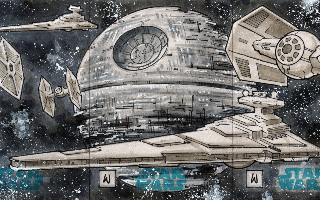 Star Wars Sketch Cards