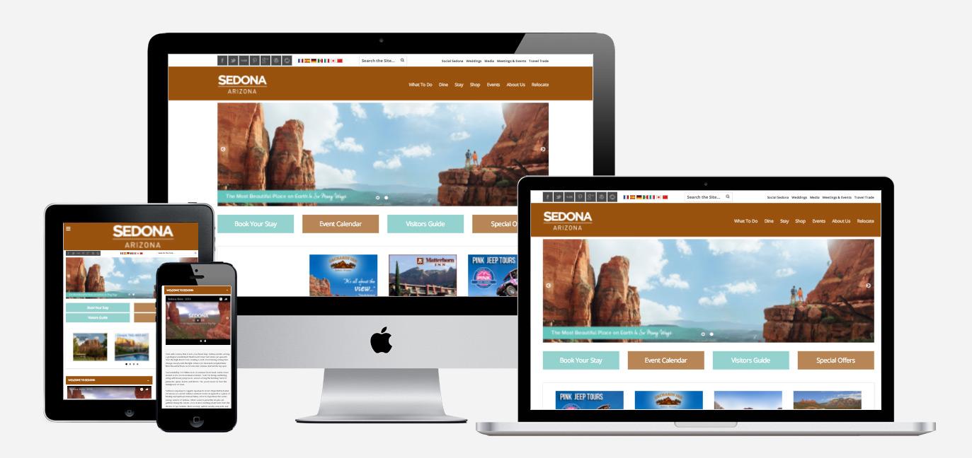 Visit Sedona Web Design