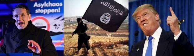 Was haben AfD, der sogenannte IS und Donald Trump gemeinsam?