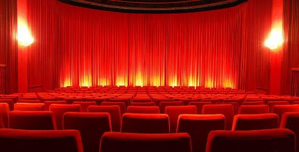 Leerer Kinosaal 2016