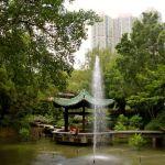 Im Park ist die Hektik der Großstadt vergessen.