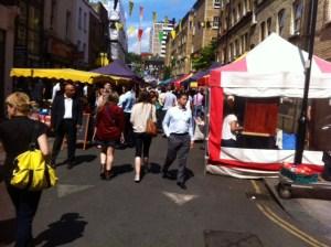 Der Whitecross-Street-Market ist unbedingt einen Besuch wert.