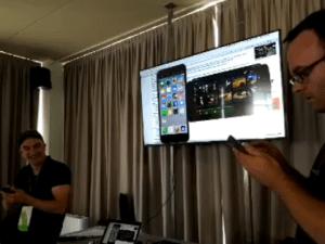 Mit Reflector kann man sogar den Inhalt mehrerer Geräte gleichzeitig an seinen Mac oder PC senden.