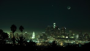 Crescent Over, Venus and the white tooth. LA, 2011