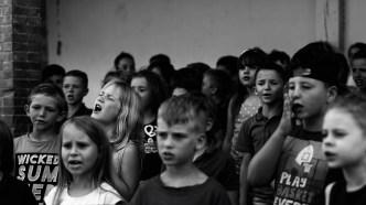 chorale de l'école primaire 2017