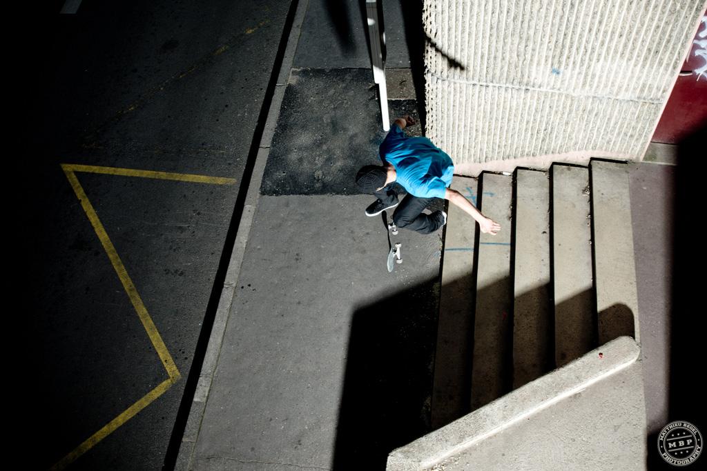 Skateboard – Above Steps