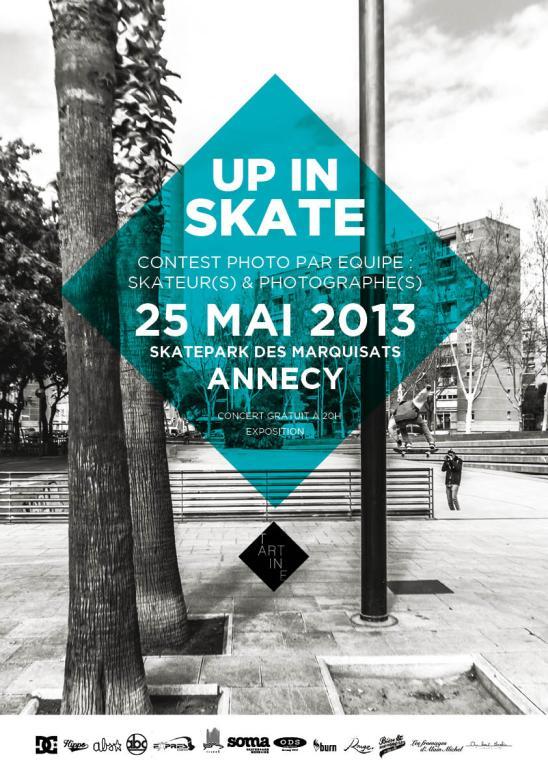 Affiche Up In Skate 2013