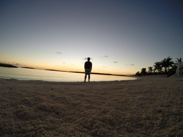 Watching the Sunset on Castaway Cay