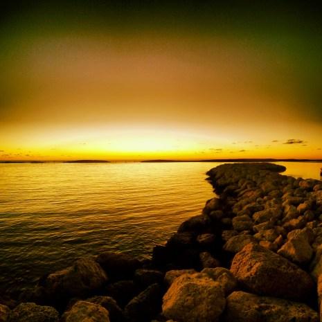 Sunset on Castaway Cay