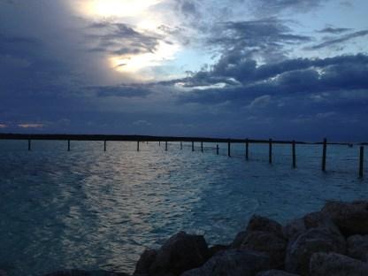 Deep Blue Sunset