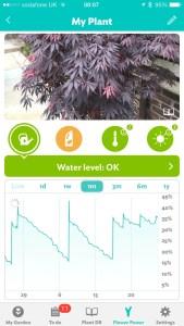 Flower Power - water levels