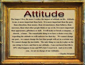 Choose Ye This Day Your Attitude