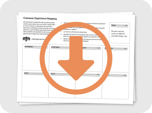 Graphic to download MJM Customer Experience Mapping exercise