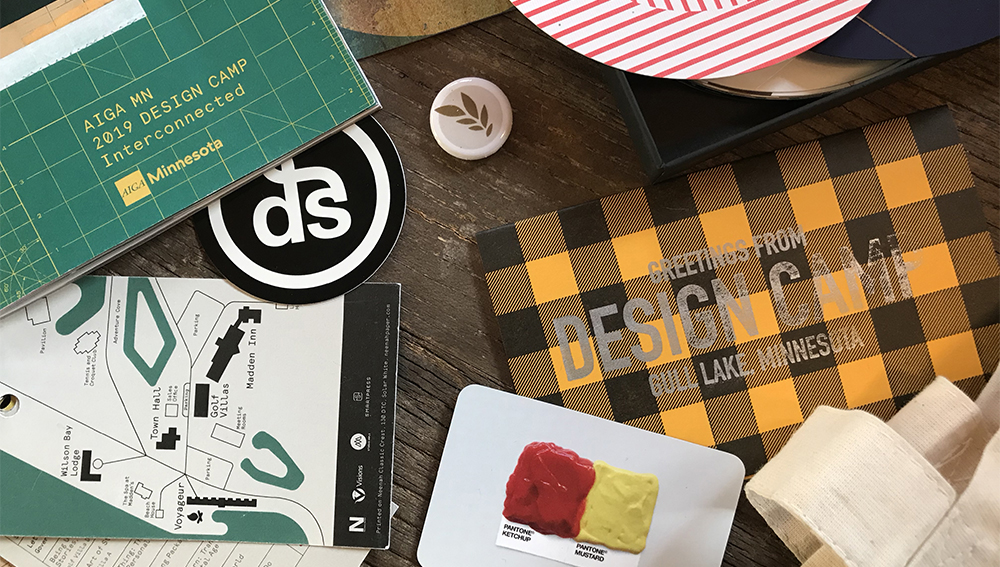 Design Camp 2019 swag