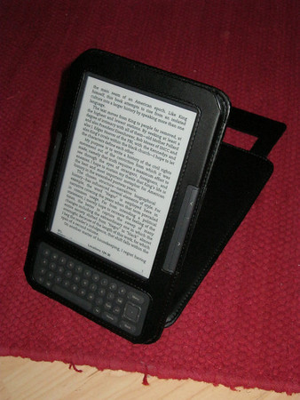 The 3rd gen. Amazon Kindle, graphite