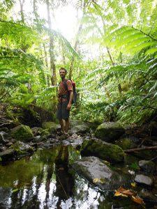 Hiking Across Rarotonga in the Cook Islands