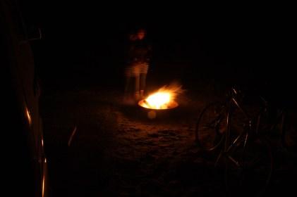 Assateague Campfire matt langley pam langley eurovan travels