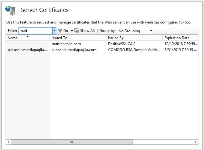 Setting Up Subsonic With Iis 8 In Windows Server 2012 Matt