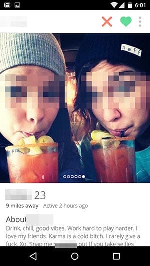 Tinder drunk girls with bloody mary