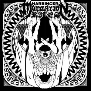 Mutilation Rites Harbinger Album Cover