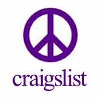 Craigslist Peace Sign Logo