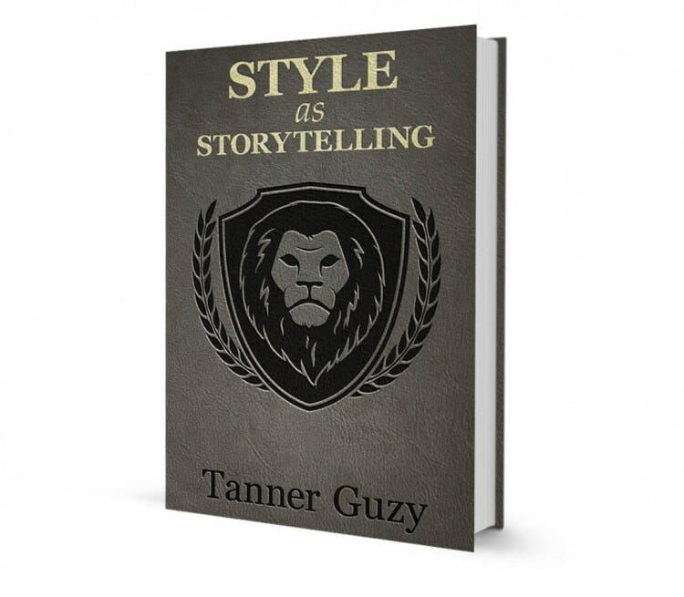 "Book Cover & Review: ""Style As Storytelling"" by Tanner Guzy"