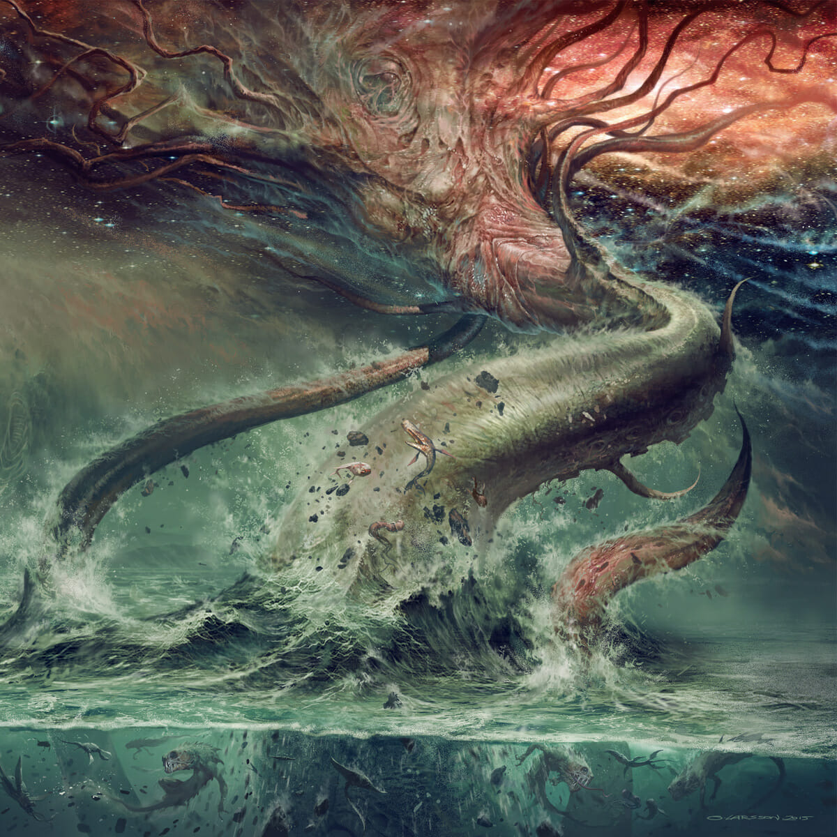 sulphur aeon gateways to the antisphere album cover