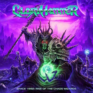 Gloryhammer Space 1992 Rise of the Chaos Wizards cover