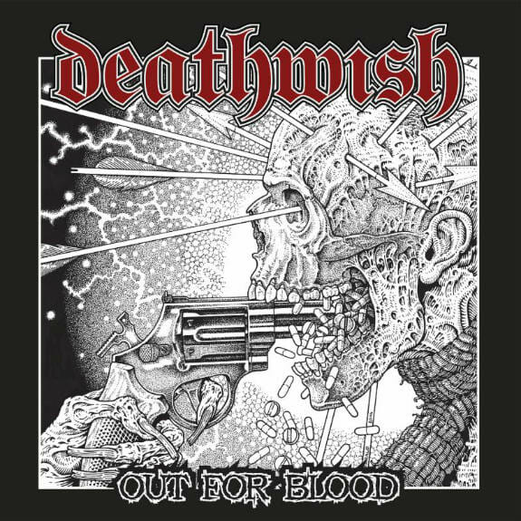 deathwish out for blood album cover