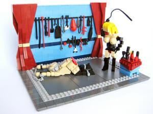naked lego sex sadomasochism dungeon