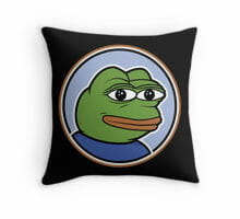 Pepe The Frog pillow