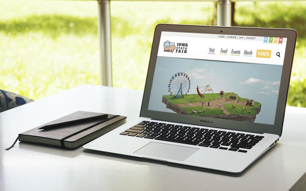 Iowa state fair web site