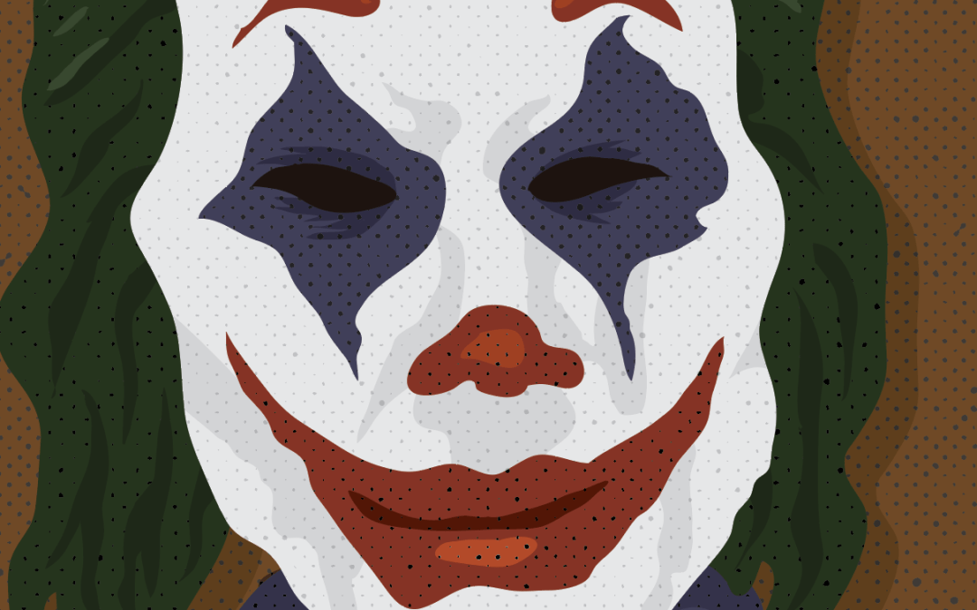 The Joker Vector Portrait