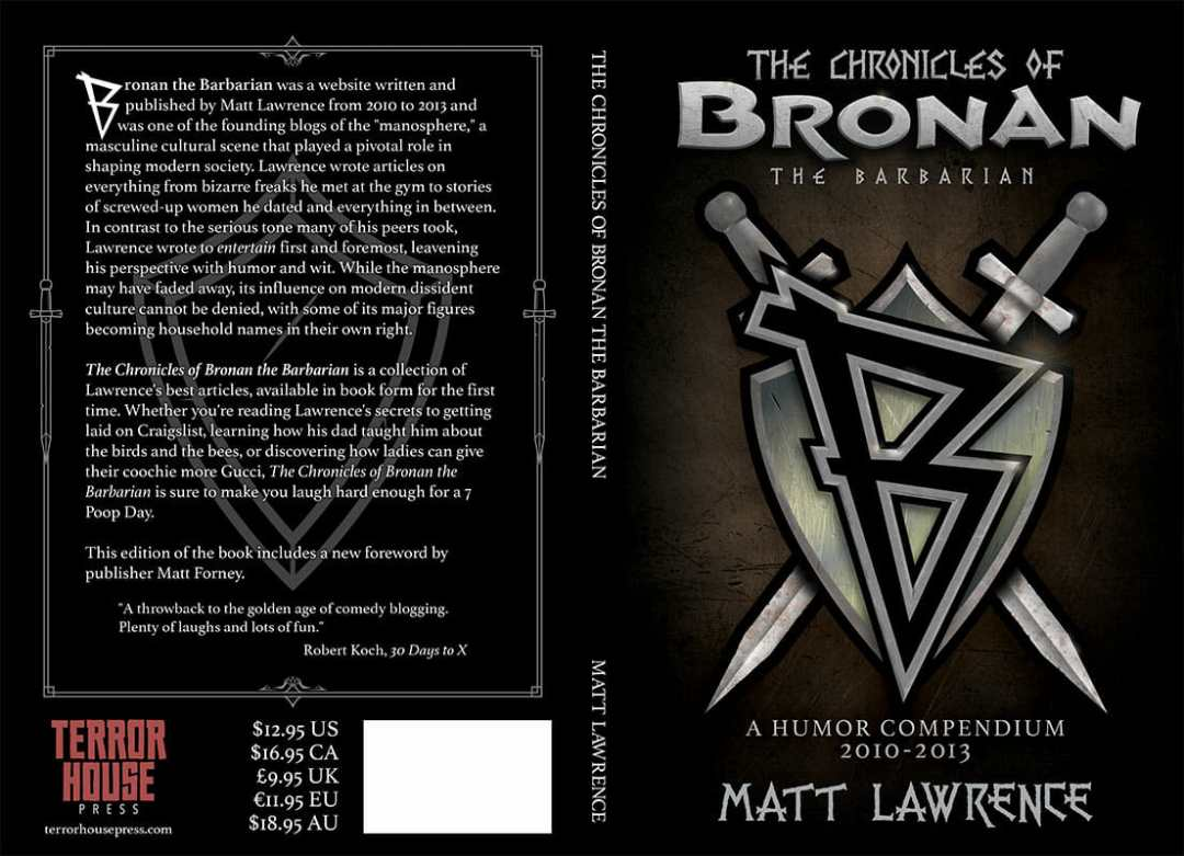 The Chronicles Of Bronan The Barbarian Full Cover