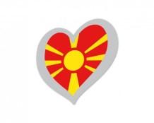 FYR Macedonia Eurovision flag