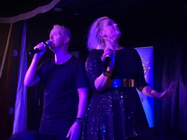 Euroband at Eurofest at the Royal Vauxhall Tavern