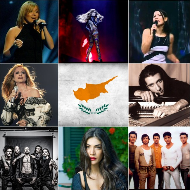 Top Eurovision entries of Cyprus