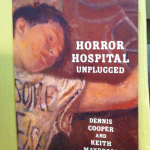 postcard for re-issue of Keith Mayerson & Dennis Cooper's Horror Hospital