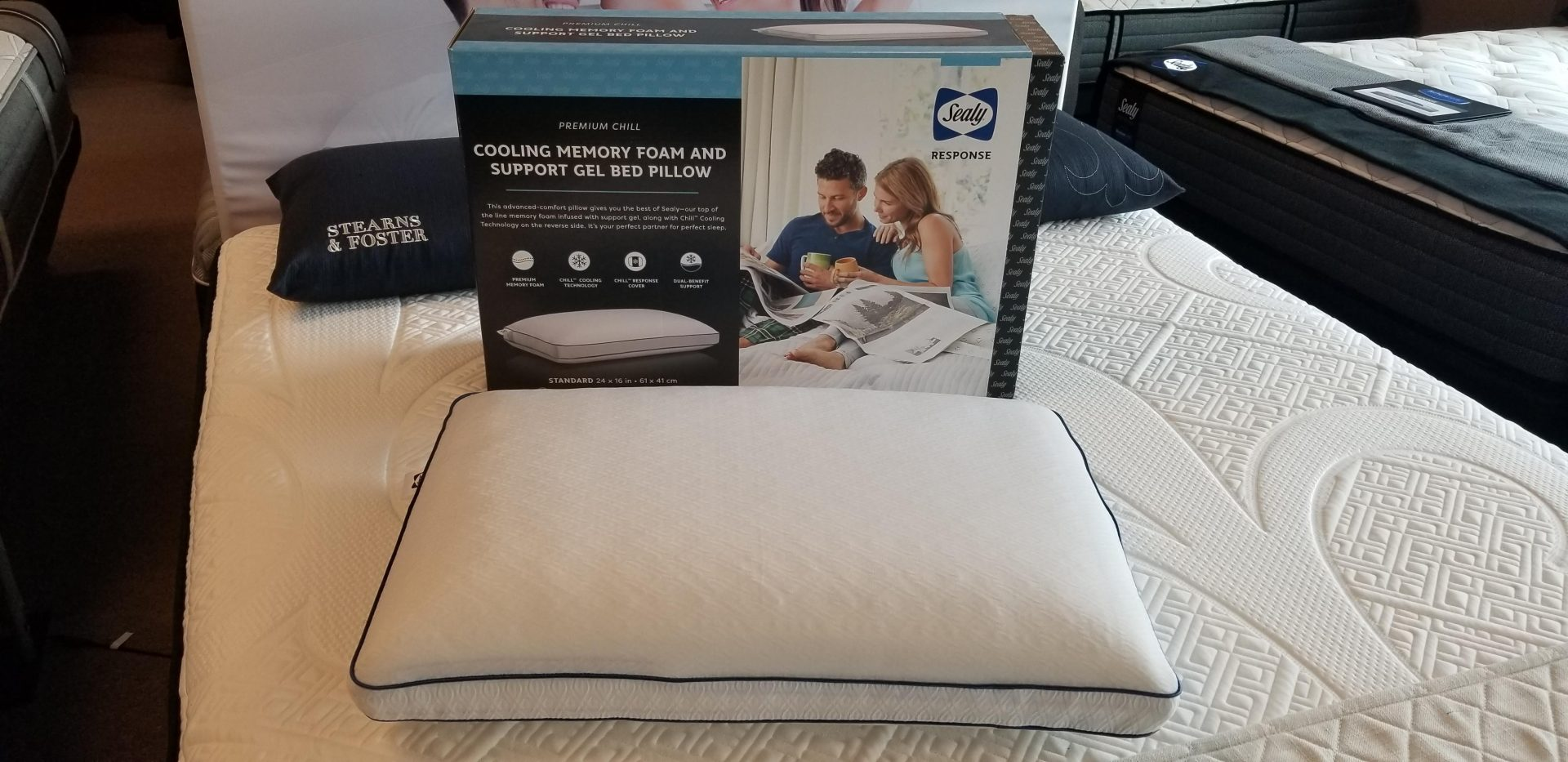 sealy response premium chill cooling